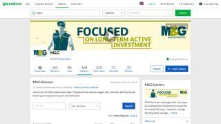 M&G Bonuses   Glassdoor.co.uk