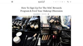 How To Sign Up For The MAC Rewards Program & Feed Your ... - Bustle
