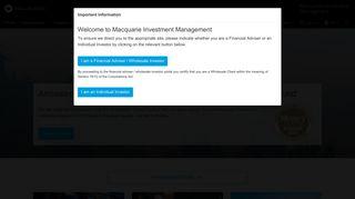 Macquarie Investment Management