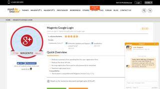 Free Magento Google Login Extension   Google Connect Module