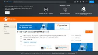 magento 1.9 - Social login extension for M1 - Magento Stack Exchange