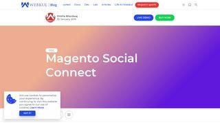 Magento Social Login - Facebook, Google, Twitter, LinkedIn