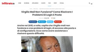 Virgilio Mail non funziona? Come risolvere i problemi di login e posta