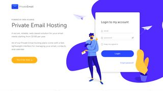 Private Email Web-Based Hosting - Namecheap