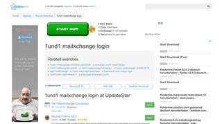 1und1 mailxchange login - UpdateStar.com