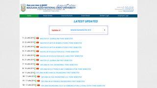 Integrated University Management System(iUMS ... - manuu coe