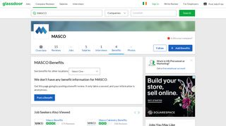 MASCO Employee Benefits and Perks   Glassdoor.ie