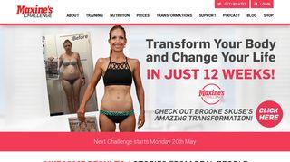 Maxine's Challenge—Australia's best transformation challenge
