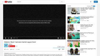 Webkinz: Mazin' Hamsters Hamlet Lagoon Zone! - YouTube