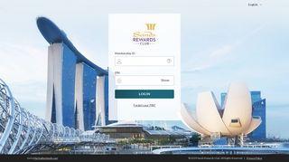 Sands Rewards Club | Login | Marina Bay Sands