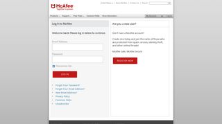 Antivirus Software and Internet Security For Your PC or Mac   McAfee