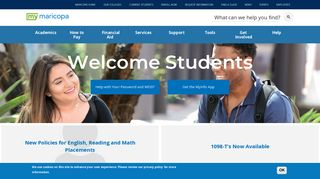 Welcome Students | My Maricopa | Maricopa Community Colleges