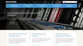 McKesson   Medical Supplies, Pharmaceuticals & Healthcare Solutions