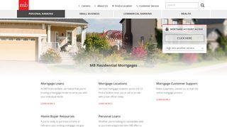 Mortgage and Loans   MB Financial Bank