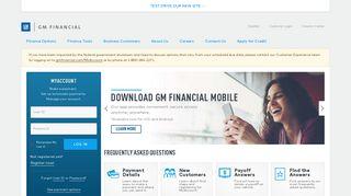 GM Financial: Auto Loan Financing & Leases