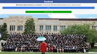 MDA National Medical Students - Home - Facebook Touch