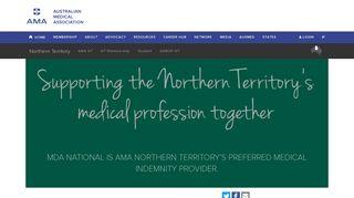 MDA National is AMA Northern Territory's preferred medical indemnity ...
