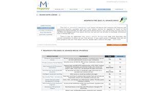 Megaproxy® - Free web anonymous surfing vs. advanced Web SSL ...