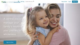 HelloWell™   Your unified patient portal
