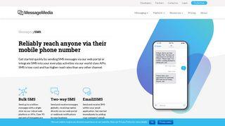 SMS - MessageMedia