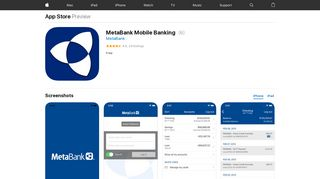 MetaBank Mobile Banking on the App Store - iTunes - Apple