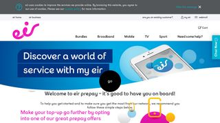 Welcome to eir Prepay