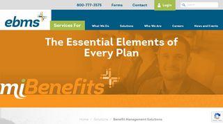 Benefit Management Solutions Through miBenefits Improve Lives ...