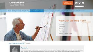 Providers | CoreSource