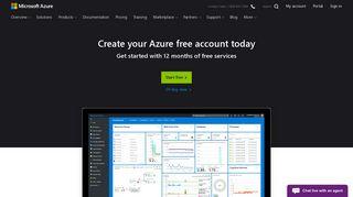 Create your Azure free account today | Microsoft Azure