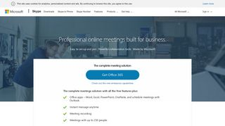 Skype for business - with security and control of Microsoft