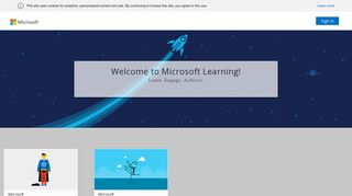 Sign in or Register Microsoft Learning - Microsoft OpenEdX