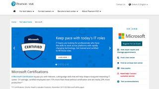 Microsoft :: Pearson VUE
