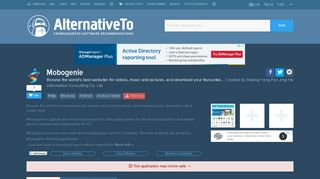 Mobogenie Alternatives and Similar Software - AlternativeTo.net