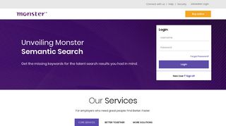 Monster - Resume Search, Buy online job posting, Recruiting ...