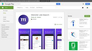 Monster Jobs - Apps on Google Play