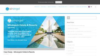 Case Study - Mövenpick Hotels & Resorts - Airangel - WiFi solutions