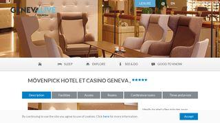 Mövenpick Hotel et Casino Geneva - Geneva Tourism
