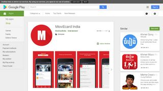 MoviEcard India - Apps on Google Play