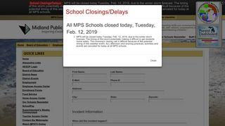Bully Report - Midland Public Schools