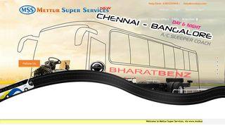 mSs- Mettur Super Services : Omni Bus Service, Bus ticket to, Mettur ...