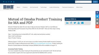 Mutual of Omaha AHIP Certification Link Available on SPA for MA and ...