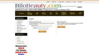 My Account - Bi-Lo Distributors Ltd.