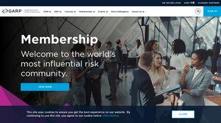 Membership | GARP