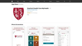 Stanford Health Care MyHealth on the App Store - iTunes - Apple
