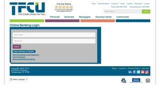 TFCU - Online Banking Login
