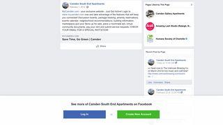 MyCamden.com - your exclusive website -... - Camden South End ...