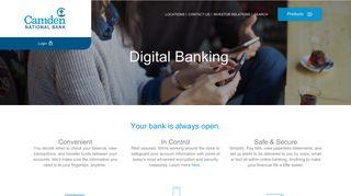 Bank 24/7 - Digital Banking Features - Camden National Bank