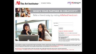 My Pages - MyAiCampus.com: Student Services for The Art Institutes