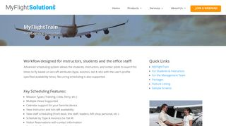For Students & Instructors - MyFlightSolutions