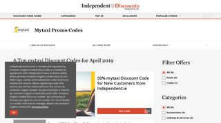 Mytaxi Promo Codes & Discount Codes | 2019 | Irish Independent